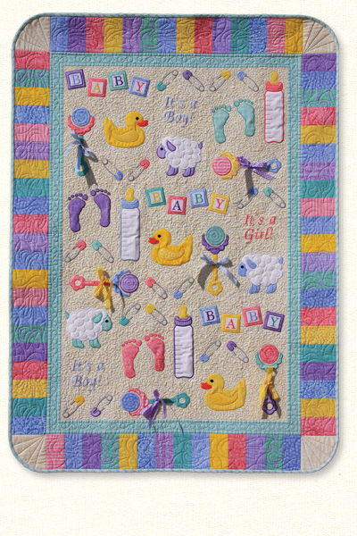 Everything Baby Quilt