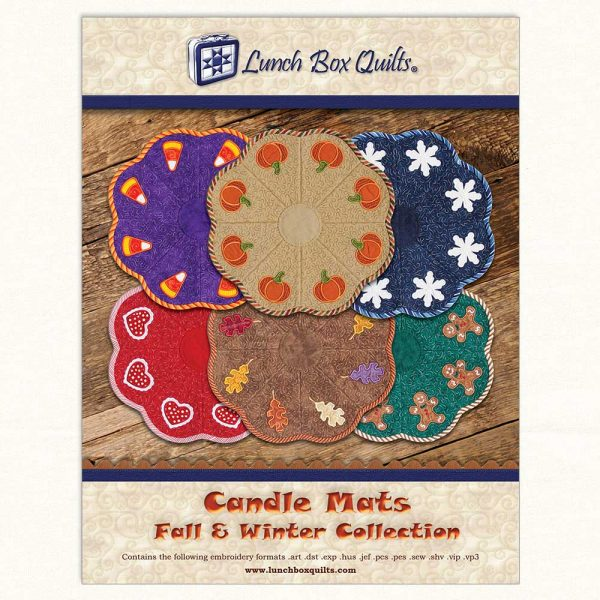 Candle Mats Fall Winter Cover
