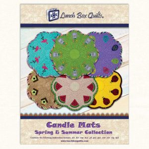 Candle Mats Spring Summer Cover