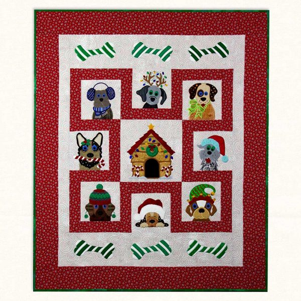 Holiday Hounds Quilt