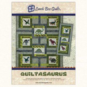 Quiltasaurus Cover