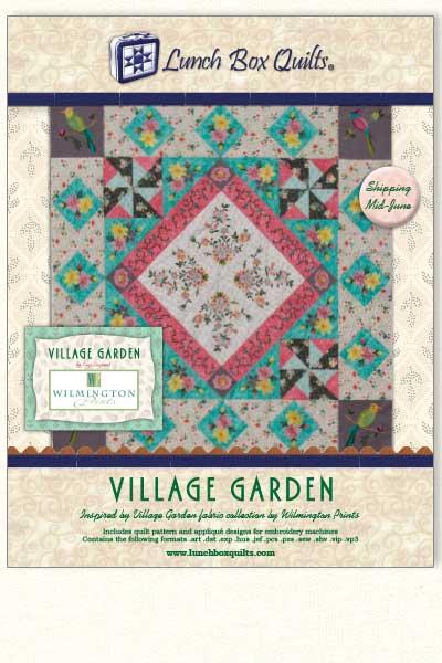 Village Garden Cover