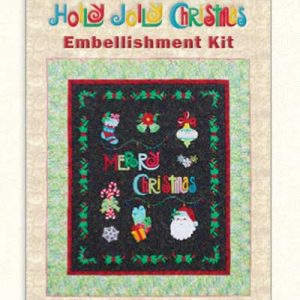 Holly Jolly Embellishments