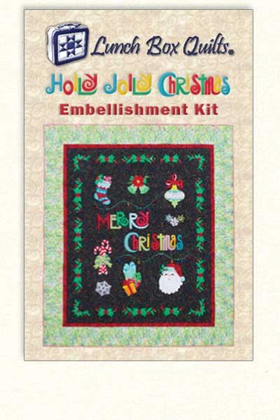 Holly Jolly Embellishments