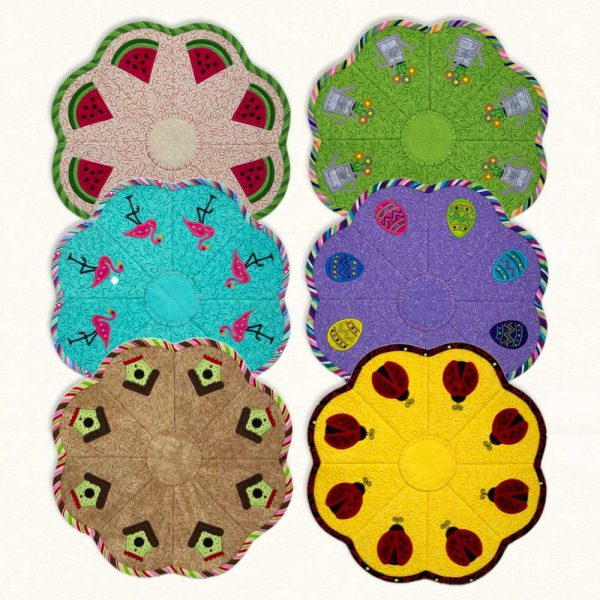 Candle Mats Spring Group