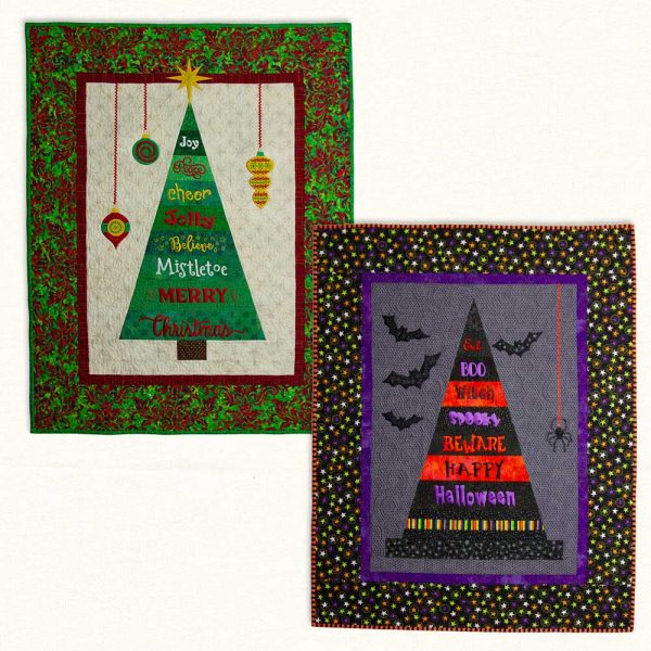 Hanging Holidays Both Quilts