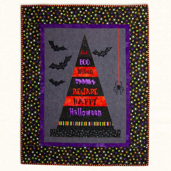 Hanging-Holidays-Witches-Hat-Quilt