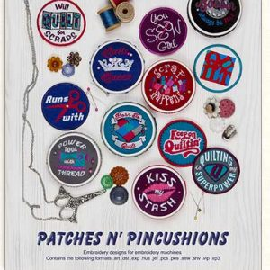 Patches Pincushiosn Cover